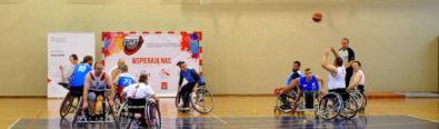 II Turniej koszykówki na wózkach z cyklu Basketball Cup 2017, Białystok 29-29.10.2017r.