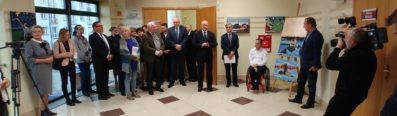 Otwarcie wystawy zdjęć medalistów z Rio, Urząd Marszałkowski Województwa Podlaskiego w Białymstoku