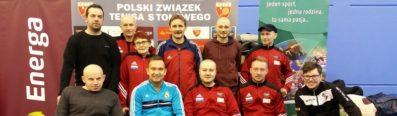 Indywidualne Mistrzostwa Polski Osób Niepełnosprawnych w tenisie stołowym, Gdańsk 1-3.12.2017r.