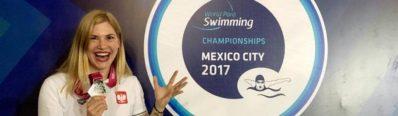 Joanna Mendak na World Para Swimming Championships, Meksyk 27.11-10.12.2017r.