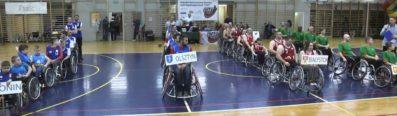 Film z turnieju finałowego koszykówki na wózkach Basketball Cup 2017
