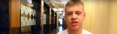 Julek Trochimczuk (pływanie) w krótkim wideo wywiadzie dla portalu dzieciom.tv