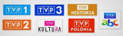 Logotypy TVP
