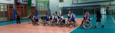 Turniej II Ligi - koszykówka na wózkach, Olsztyn 2.05.2021r.
